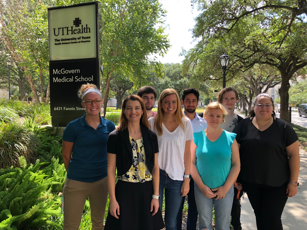 Berdeaux Lab Photo Summer 2018